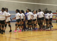 Collins' Volleyball Team Puts Up a Fight But Loses 25-17