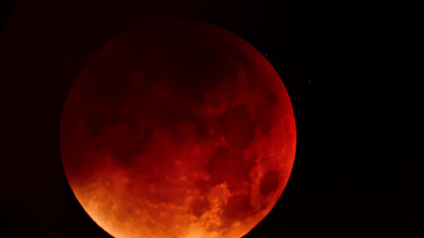 Super Blue Blood Moon, First in 35 Years