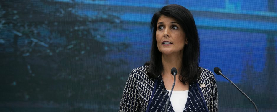 Nikki Haley Resigns Post as US Ambassador to the UN