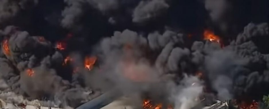 Fire Engulfing Chemical Plant in Rockton Illinois Likely to Burn for Days [Video]
